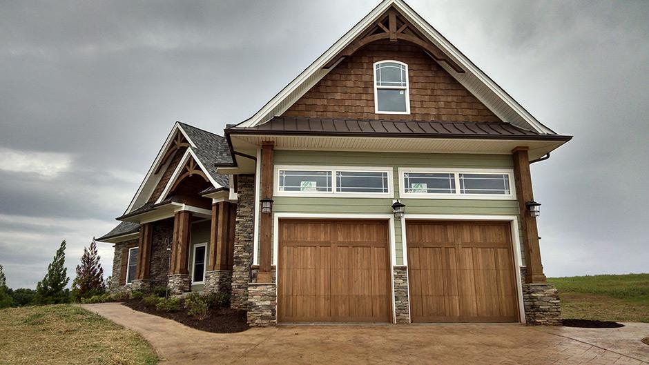 Pin carriage house garage door on pinterest for Carriage house garages