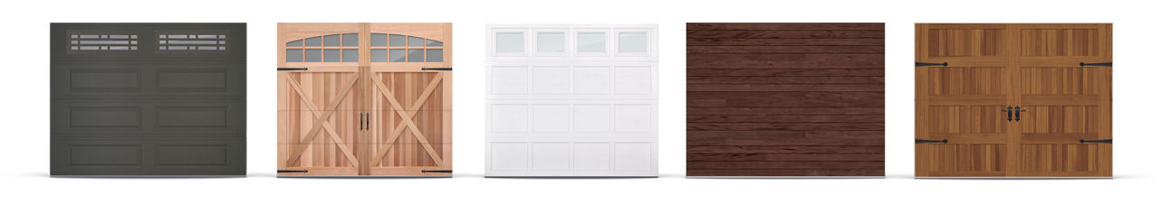 CHI Models Garage Door Options Assortment