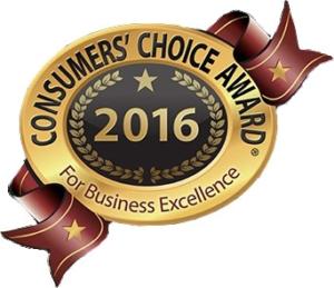 2016 Consumer's Choice Award