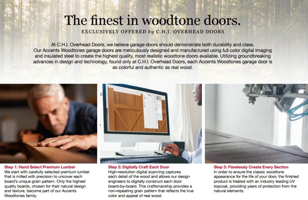 Accents The Finest in Woodtone Doors
