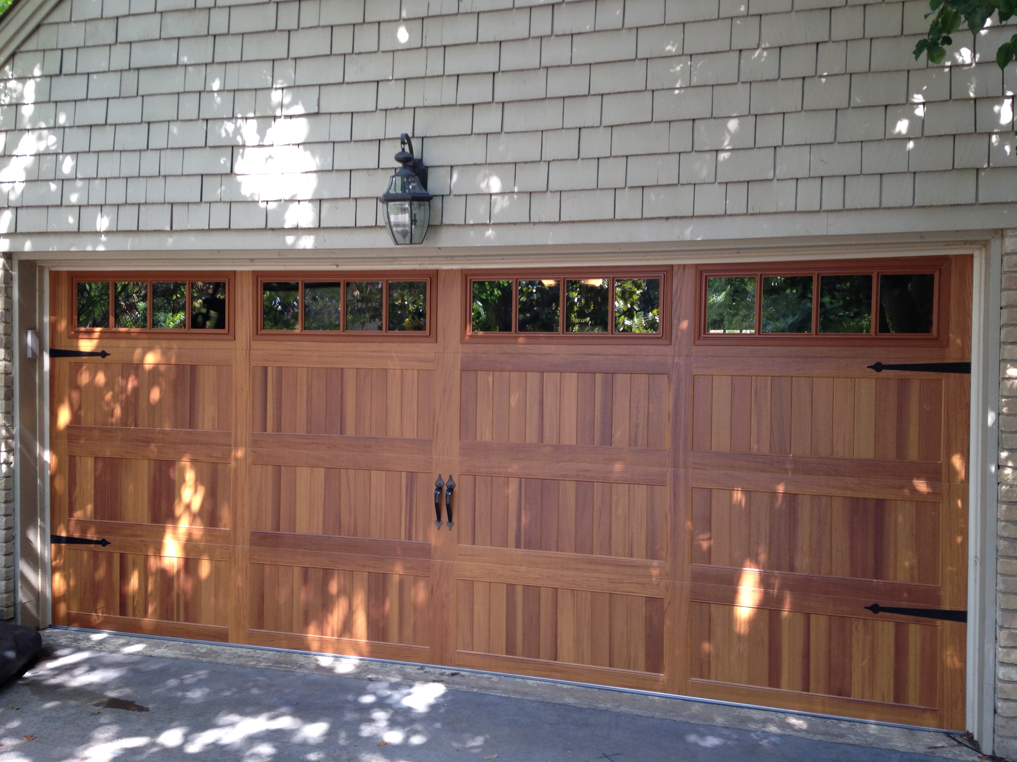 Custom Carriage House Garage Door In Plano Tx
