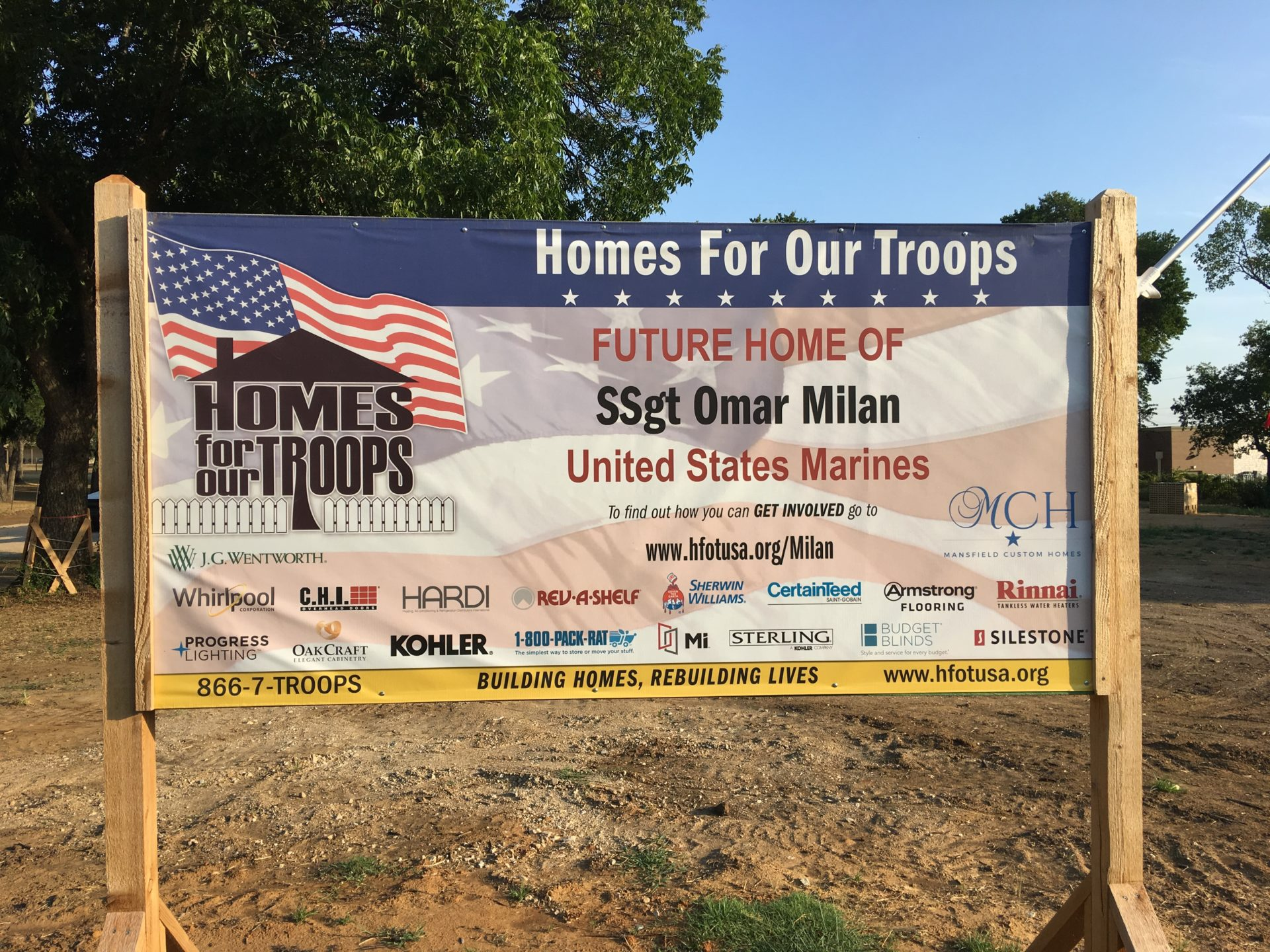 Homes For Our Troops Install 3